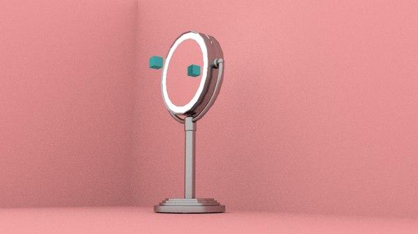 mirror decoration 3D model