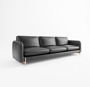 sofa fabric leather 3D