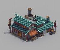 urban architecture - medicine 3D model
