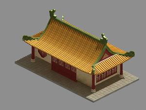 city house 63 3D model