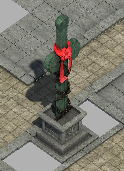 city center - sword 3D