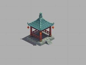 urban architecture - pavilion model