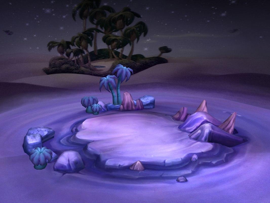 modal - aladdin desert night 3D model