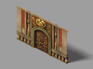 3D disey - gate 06 model