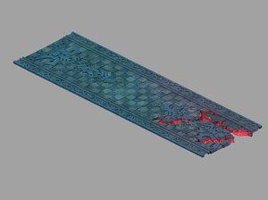 underground palace - exit 3D model