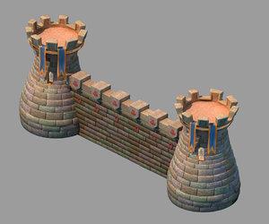 main city - tower 3D