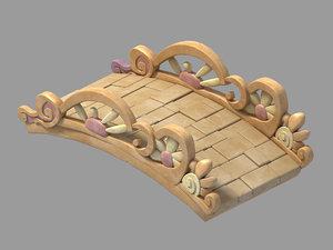 3D main city - stone model