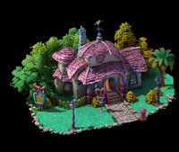 main city - Minnie Cabin 03
