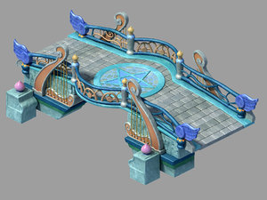 main city - stone 3D model