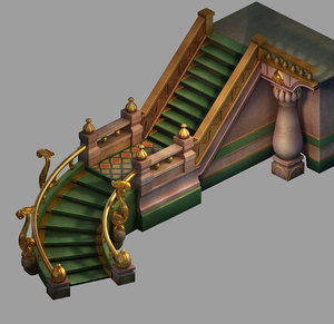 stairs - 03 3D model
