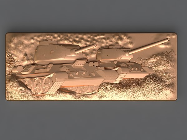 3D tank mold hand model