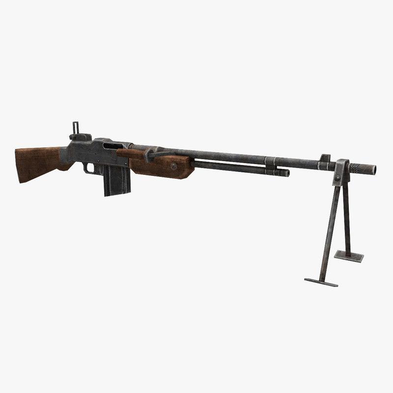 browning m1918 bar gun model