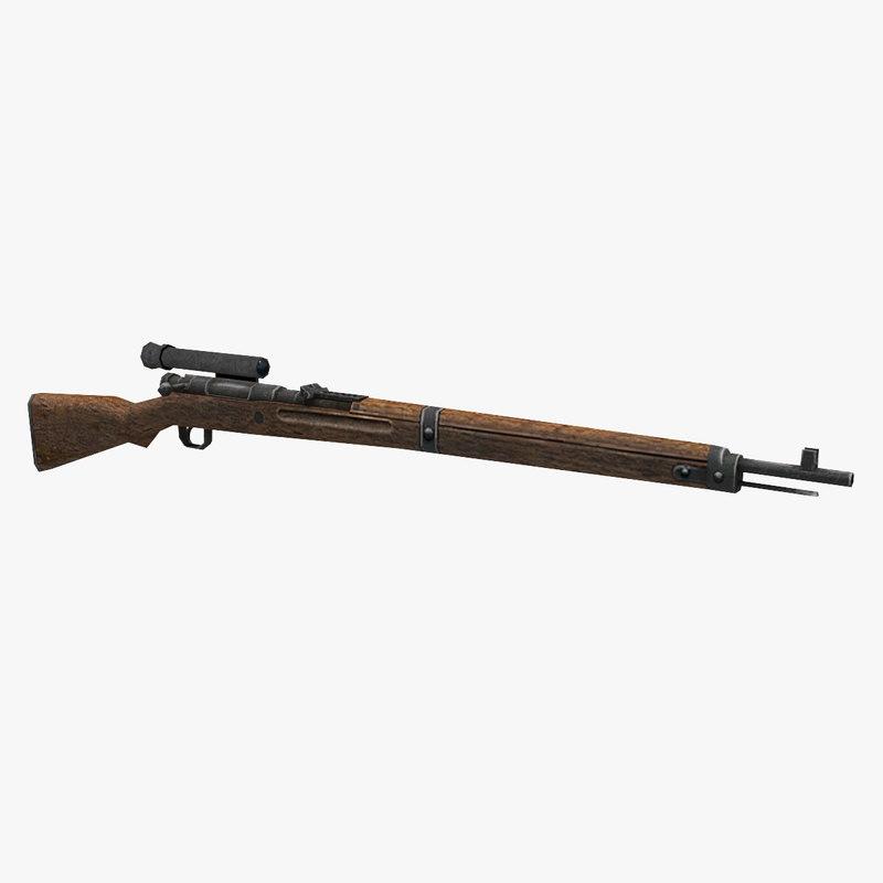 type 99 rifle optics 3D