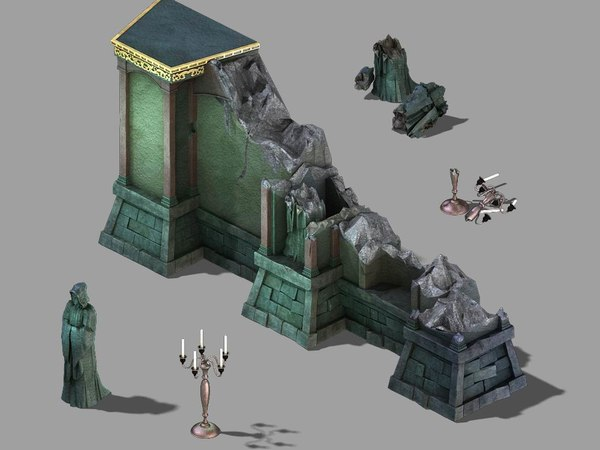 palace earth - half-born 3D model