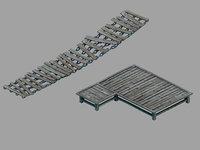 3D palace entrance - pier model
