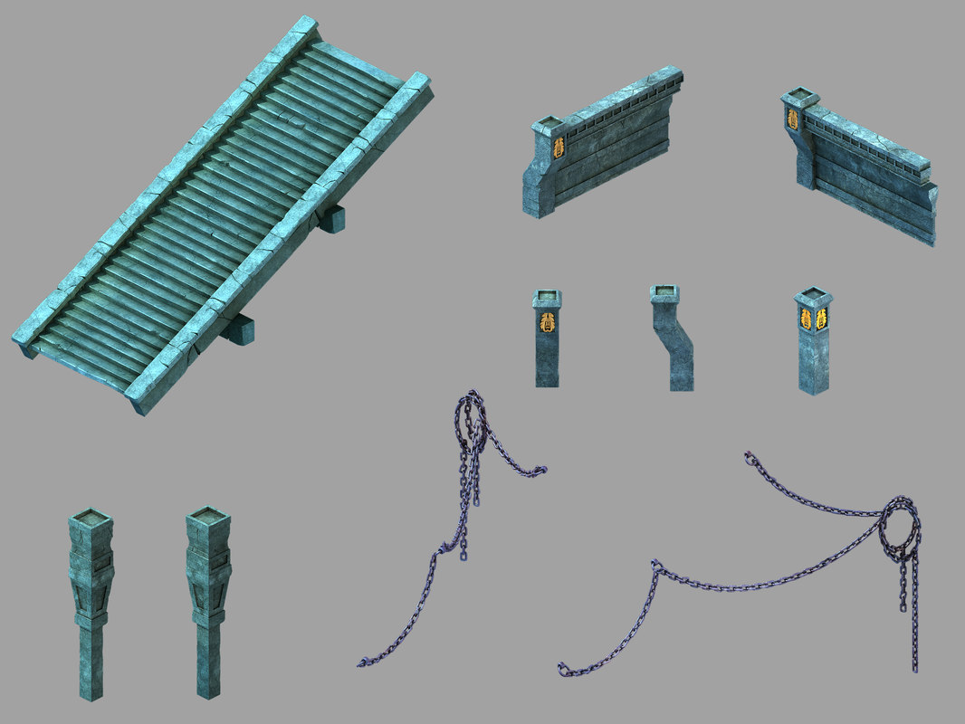underground palace - ground 3D