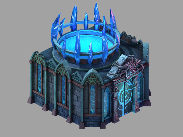 3D palace - temple earth
