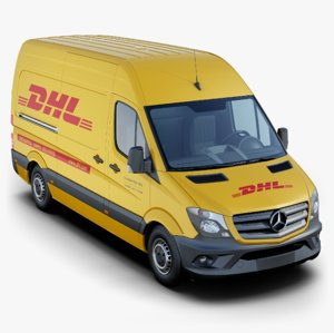 3D mercedes-benz sprinter