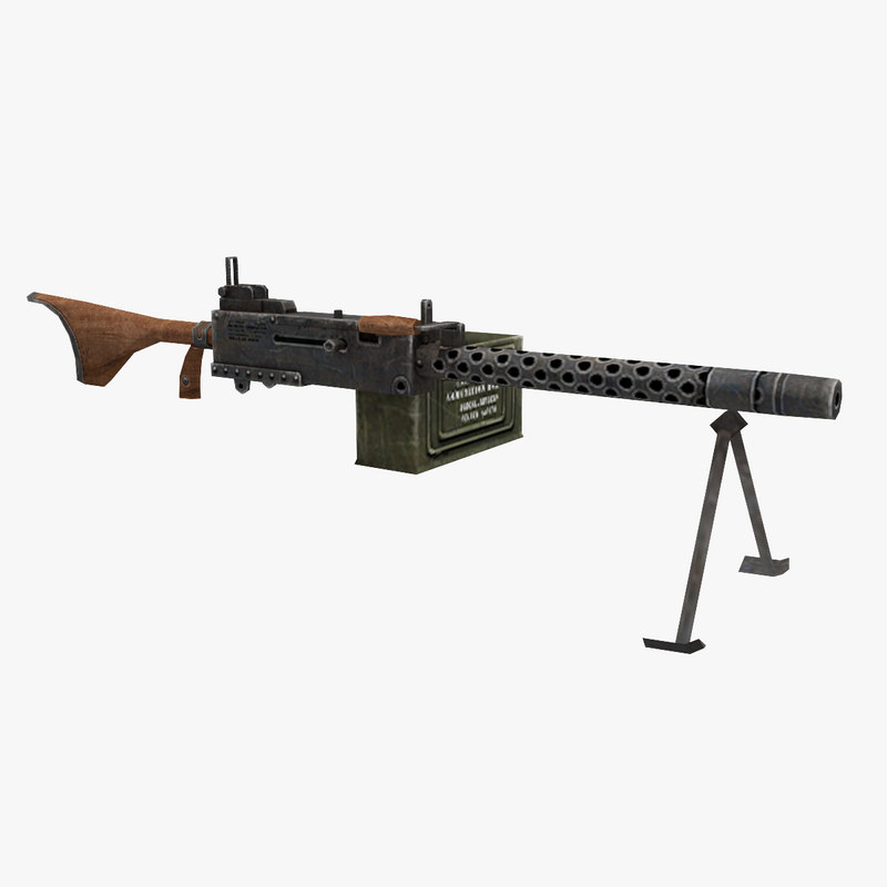 browning m1919a6 model
