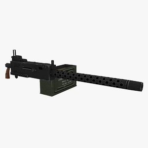3D browning m1919a4