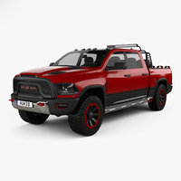 dodge 1500 rebel 3D