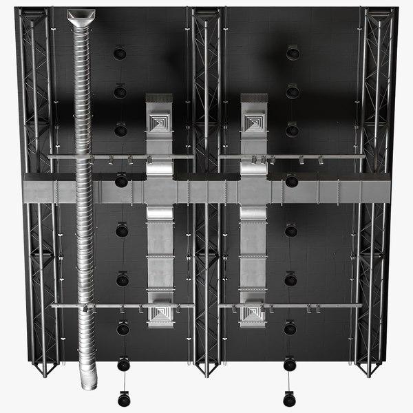ceiling ventilation 13 3D model