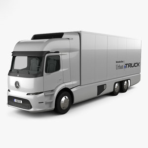 mercedes-benz etruck urban model