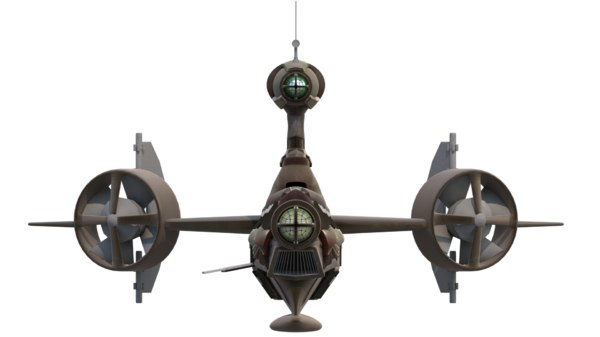 3D model submarine