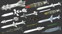 missiles ready 3D model
