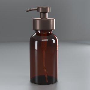 soap dispenser 3D model