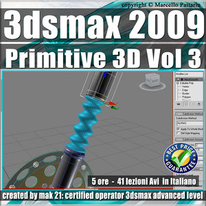 003 Corso 3ds max 2009 Primitive 3D vol.3