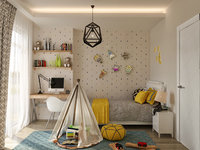 children room 3D