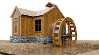 3D house modelled