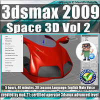 002 Video Tutorial 3ds max 2009 Space 3D vol.2