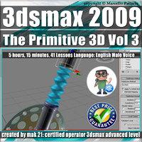 003 Video Tutorial 3ds max 2009 The Primitive 3D vol.3