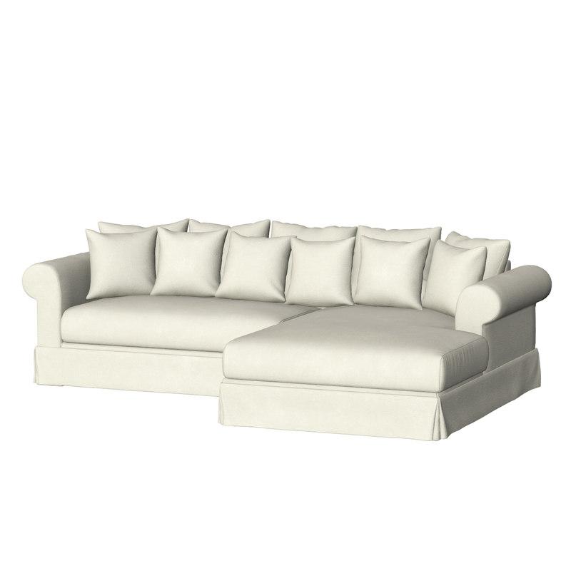 3D sofa - aludra