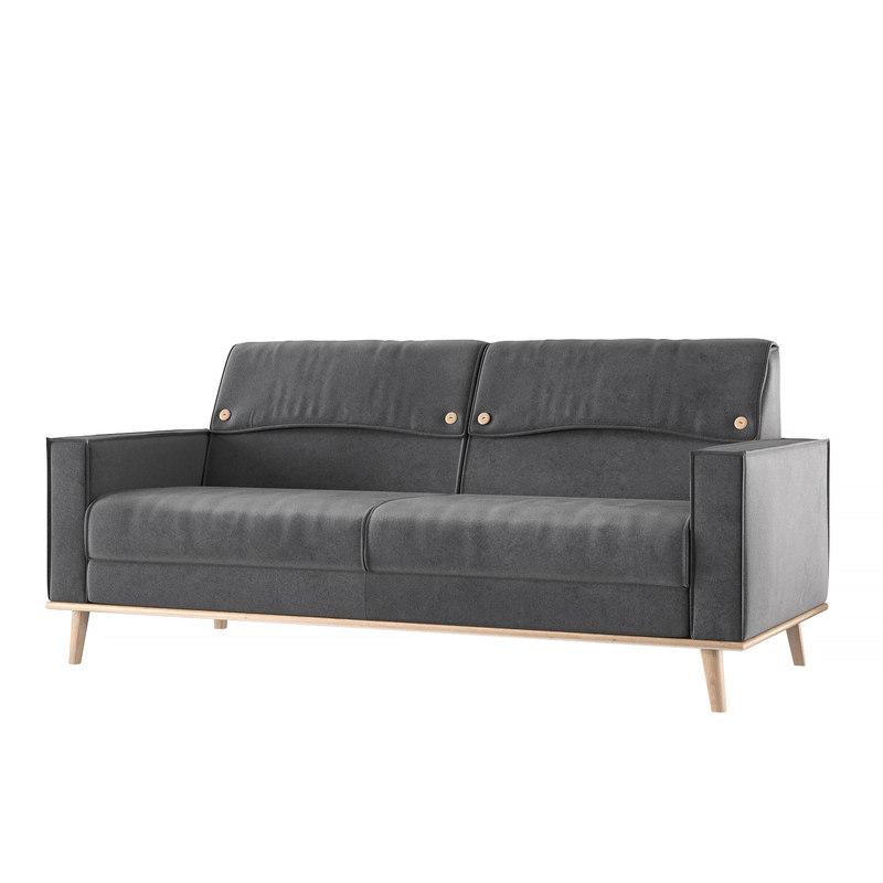 sofa - furud highpoly 3D model