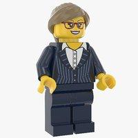 Lego Woman Executive