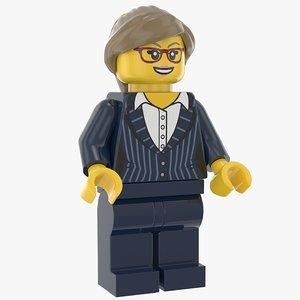 lego woman executive model