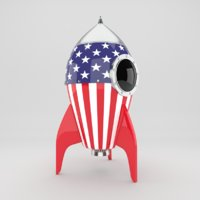 US Rocket toy