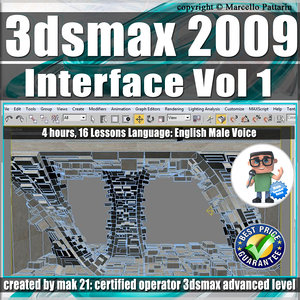 001 Video Tutorial 3ds max 2009 Interface vol.1