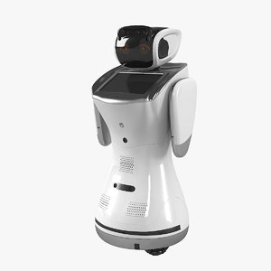 sanbot elf robot 3D model