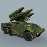 hq-7 hq-7b 3D model