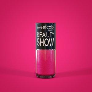 nail polish model