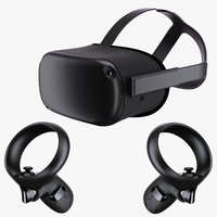 oculus quest 2019 3D model