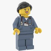 Lego Woman Doctor