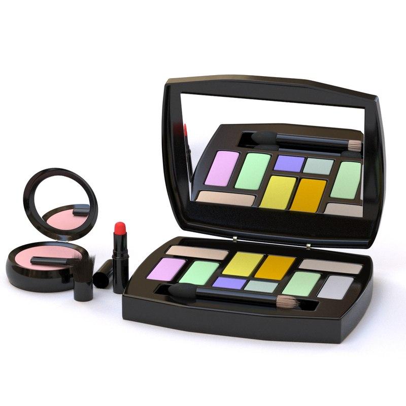 3D set makeup