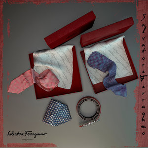 3D gift set accessories ferragamo
