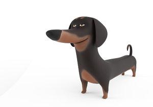 cute dog model