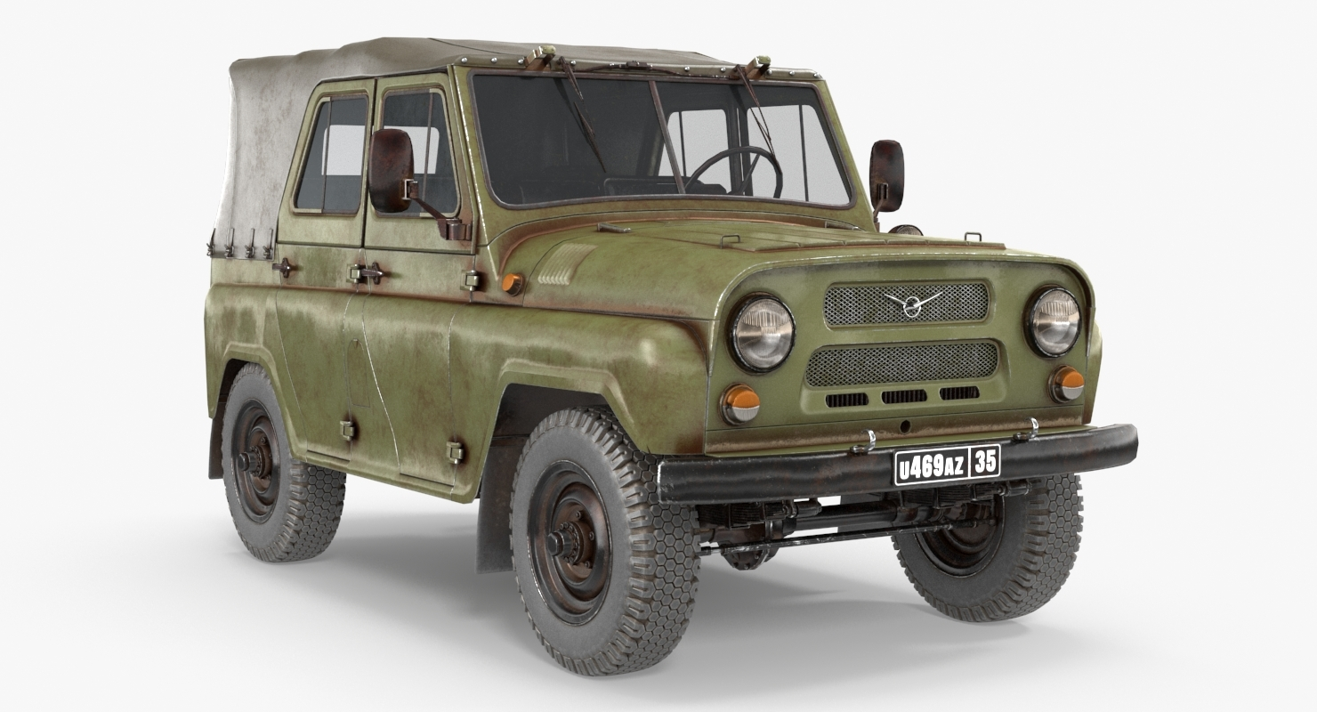 modelo 3d UAZ - 469 (JEEP) - TurboSquid 1365098